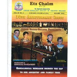 Jewish Genealogical Society of Greater Orlando Etz Chaim Vol 10 number 4 new