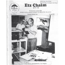 Jewish Genealogical Society of Greater Orlando Etz Chaim Vol 12 number 3
