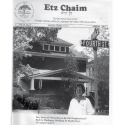 Jewish Genealogical Society of Greater Orlando Etz Chaim Vol 14 number 3
