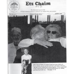 Jewish Genealogical Society of Greater Orlando Etz Chaim Vol 15 number 3