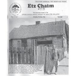 Jewish Genealogical Society of Greater Orlando Etz Chaim Vol 17 number 1