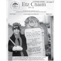Jewish Genealogical Society of Greater Orlando Etz Chaim Vol 17 number 3