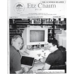 Jewish Genealogical Society of Greater Orlando Etz Chaim Vol 17 number 4