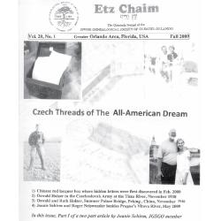 Jewish Genealogical Society of Greater Orlando Etz Chaim Vol 20 number 1