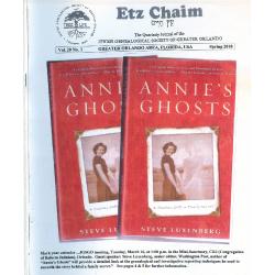Jewish Genealogical Society of Greater Orlando Etz Chaim Vol 20 number 3