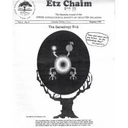 Jewish Genealogical Society of Greater Orlando Etz Chaim Vol 9 number 4
